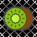 Kiwi Fruit Fresh Icon