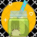 Kiwi Smoothie Drink Icon