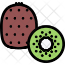 Kiwi Vegetables Fruit Icon