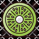 Kiwifruit Chinese Gooseberry Healthy Food Icon