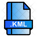 Kml Extension File Icon