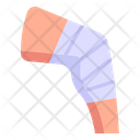 Knee Fracture Knee Wound Knee Injury Icon