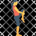 Knee Exercise Crossfit Icon