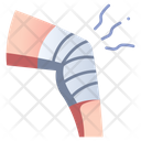 Leg Treatment Injury Icon