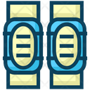American Football Knee Pads Icon