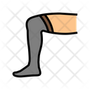 Knee Sock Color Icon