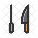 Knife Sharpener Slice Icon