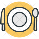 Knife Plate Spoon Icon