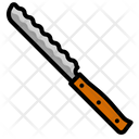 Knife Serrated Sharp Icon