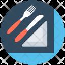 Knife Napkin Fork Icon