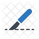 Knife Operations Medical Icon