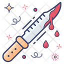 Knife Killer Knife Blood Dripping Sword Icon