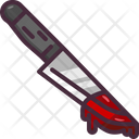 Blood Dagger Knife Icon