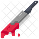 Knife Blood Dagger Icon