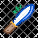 Knife Tool Jungle Icon