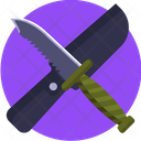 Knife Weapon Army Icon