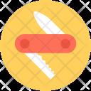 Knife Army Cutting Icon
