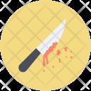 Knife Blood Murder Icon
