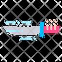 Knife Cut Cutlery Icon