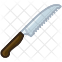 Knife Blade Bread Icon