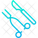 Knife And Scissor Icon
