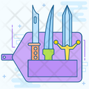 Knife Collection Battle Knife Battle Sword Icon