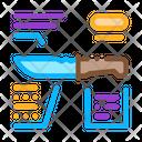 Knife Description Making Icon