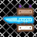 Knife Handle Making Icon