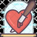 Knife In Heart Icon