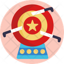 Knives Circus Act Knife Throwing Icon