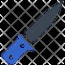 Crime Evidence Knife Icon