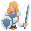 Character Rpg Shield Icon