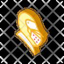 Knight Helmet Isometric Icon
