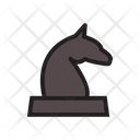 Knight Game Chess Icon