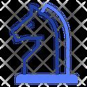 Chess Knight Piece Icon