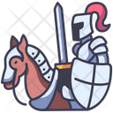 Horse Medieval Knight Icon
