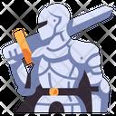 Medieval Knight Armor Icon