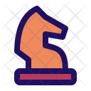 Chess Horse Figure Icon