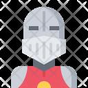 Knight Helmet Fantasy Icon