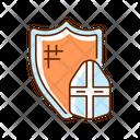 Knight Armor Medieval Icon