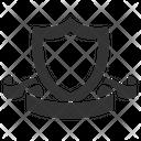 Knight Badge Achievement Shield Icon
