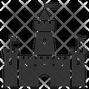 Knight Castle Castle Citadel Icon