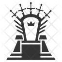 Knight Throne King Conqueror Icon