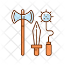 Medieval Knight Weapon Icon