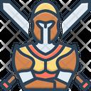 Knights Medieval Spartan Icon