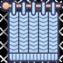 Knitting Stitch Stitches Icon