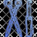 Knitting Tools Knitting Needle Icon