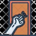 Knock Rap Knocking Icon