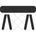 Knockdown Table Icon