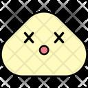 Knocked Out Emoji Emoticon Icon